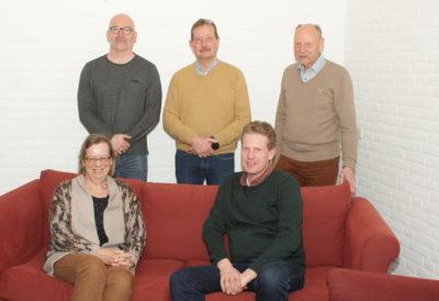 Foto van het bestuur